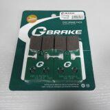 Колодки тормозные GM-03050S G-brake (MCB706, FDB2085)