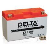 Аккумулятор СТ1208 МТ12-8 YT7B-BS 8 а/ч 150х66х94 св кисл герм Delta