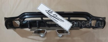 Накладки на задний бампер на Lexus RX400H во Владивостоке