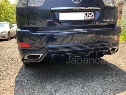 Накладки на задний бампер на Toyota Harrier во Владивостоке