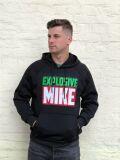Набор Explosive Mike: худи черная, шнурок для ключей и наклейка    купить по цене 2240 р.