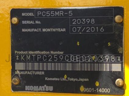 Экскаватор KOMATSU PC55MR-5 2016 года во Владивостоке
