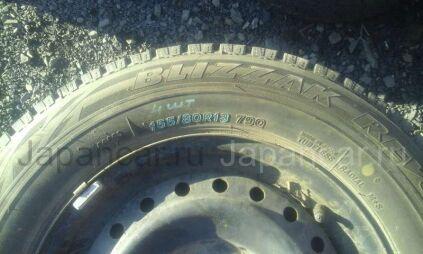 Зимние шины Bridgestone Revo g2 155/80 13 дюймов б/у во Владивостоке