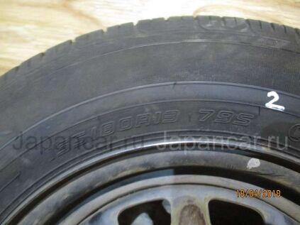 Летниe шины Dunlop 155/80 13 дюймов б/у в Томске