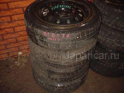 Зимние шины Yokohama 195/60 15 дюймов б/у в Уссурийске