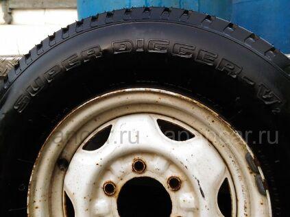 Всесезонные колеса Yokohama super digger v2 215/80 15 дюймов Япония ширина 5.5 дюймов вылет 30 мм. б/у в Уссурийске