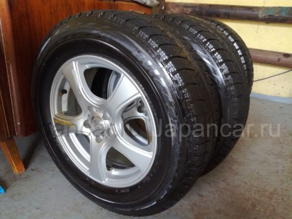 Всесезонные колеса Bridgestone Blizzak revo 215/65 16 дюймов Violento б/у в Комсомольске-на-Амуре