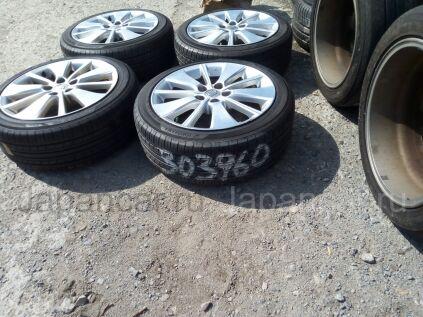 Диски 18 дюймов Toyota ширина 8 дюймов вылет 45 мм. б/у в Челябинске