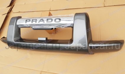 Защита переднего бампера на Toyota Land Cruiser Prado во Владивостоке