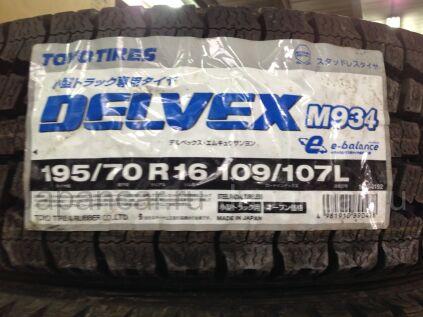 Зимние шины Япония Toyo delvex m934 195/70 16 дюймов новые во Владивостоке