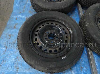 Летниe колеса Bridgestone Sneaker 195/70 15 дюймов Honda вылет 5 мм. б/у в Барнауле