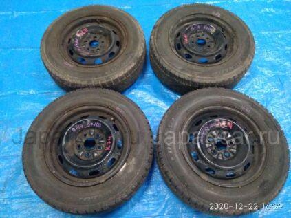 Зимние колеса Dunlop Dsx-2 185/70 14 дюймов Toyota вылет 5 мм. б/у в Барнауле