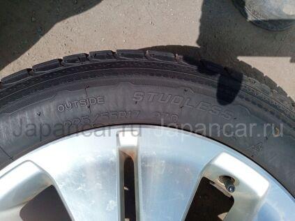 Зимние шины Nankang Corsafa 225/55 17 дюймов б/у в Челябинске