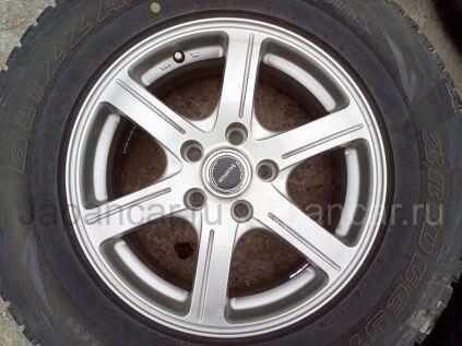 Диски 16 дюймов Bridgestone ширина 6.5 дюймов вылет 46 мм. б/у в Челябинске