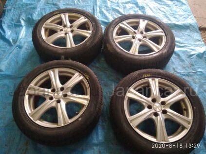 Летниe колеса Dunlop Enasave ec203 205/55 16 дюймов Topy sibilla rz вылет 5 мм. б/у в Барнауле
