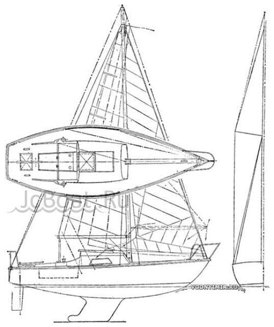 яхта парусная Нефрит 1985 года