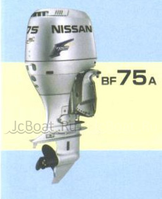 мотор подвесной NISSAN MARINE BF75A 2002 года