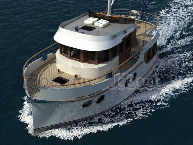 яхта моторная «GENEROUS-41»  2011 года