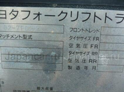 Автопогрузчик Toyota 7FD25 2004 года в Японии