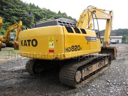 Экскаватор KATO HD820V 2010 года во Владивостоке