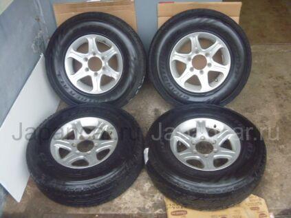 Всесезонные колеса Dunlop grandtrek at3 225/80 15 дюймов Bridgestone б/у в Краснодаре