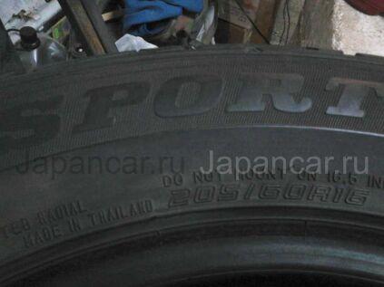 Летниe шины Dunlop 205/60 16 дюймов б/у в Новосибирске