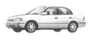 Toyota Tercel 4DOOR VX 1500EFI SALOON PACKAGE 1998 г.