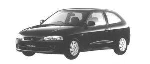 Mitsubishi Mirage 3DOOR X 1998 г.