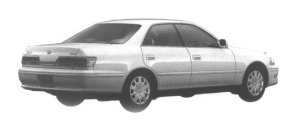 Toyota Mark II 2.0 1998 г.