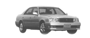 Toyota Crown 4DOOR HARD TOP 3.0 ROYAL TOURING 1998 г.