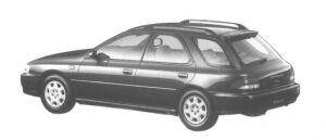 Subaru Impreza SPORT WAGON GB 1998 г.