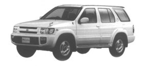 Nissan Terrano Regulus 3200 TURBO DIESEL RS-R LIMITED 1998 г.