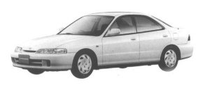 Honda Integra 4DOOR HARD TOP Ti 1998 г.