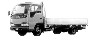 Isuzu Elf 2T HIGH CAB, FLAT LOW, LONG BODY 1998 г.