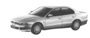 Mitsubishi Galant VR-G 1998 г.