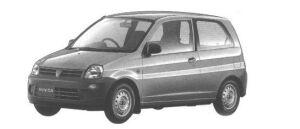 Mitsubishi Minica 3DOOR Pf 1998 г.