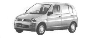Mitsubishi Minica 5DOOR Pj 1998 г.