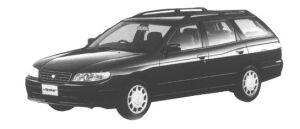 Nissan Avenir SALUT X (2WD TWINCAM 2000) 1998 г.