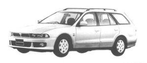 Mitsubishi Legnum ST 1998 г.