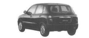 Daihatsu Storia CX-LIMITED 4WD 1998 г.