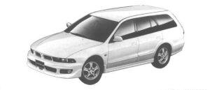 Mitsubishi Legnum 24VIENTO 1998 г.