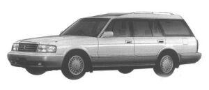 Toyota Crown STATION WAGON 2.5L ROYAL SALOON 1998 г.