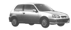 Toyota Starlet GLANZA S 1998 г.