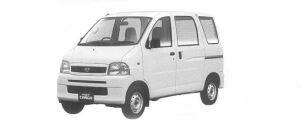 Daihatsu Hijet VAN CARGO SPECIAL 2WD 2001 г.