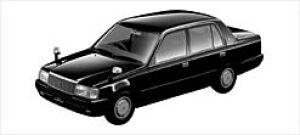Toyota Crown COMFORT 2000 LPG DELUXE 2003 г.