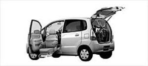 Suzuki Mr Wagon Passenger Seat Lift-up Car 2003 г.