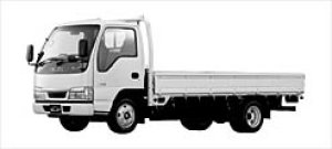 Isuzu Elf CNG Flat Low Long Body 2003 г.