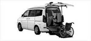 Nissan Serena ChairCab Slope-typeHighRoof V-G 2WD 2000 2003 г.