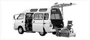 Nissan Caravan 2WD ChairCab B-Type1 4Door Gasoline 2003 г.