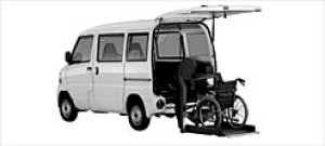 Mitsubishi Minicab Wheelchair Spec. Tailgate Lift Type 2003 г.